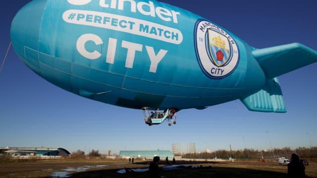 Manchester City conclut un énorme partenariat avec Tinder