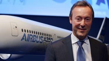 Fabrice Brégier vise désormais des livraisons à plus de 700 appareils pour 2017