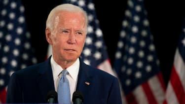 Joe Biden, à Dover dans le Delaware, le 5 juin 2020.