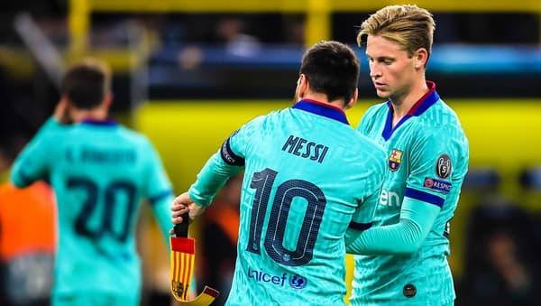 De Jong et Messi, au Barça
