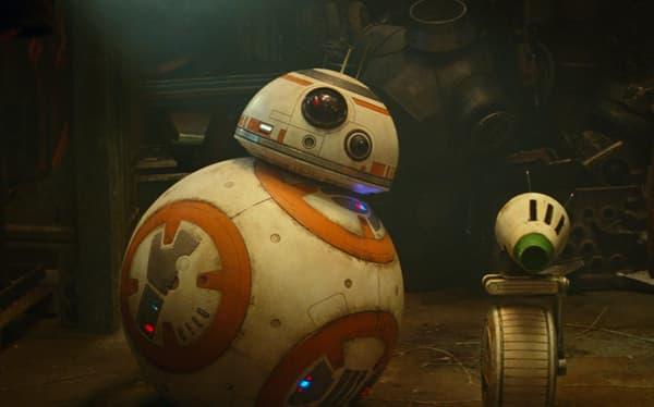 BB-8 (à gauche) et D-O (à droite)