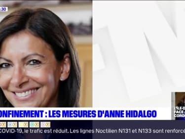 Paris: les mesures d'Anne Hidalgo pour le déconfinement