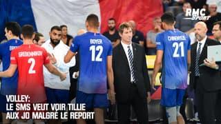 Volley: Le SMS veut voir Tillie aux JO malgré le report