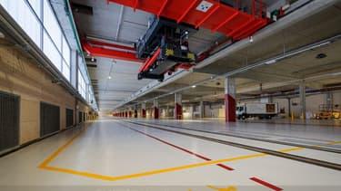 Doté de 15.200 m², le site permet d'acheminer les marchandises sur les derniers kilomètres vers la capitale en train