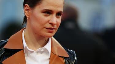 La chanteuse Héloïse Letissier, alias Christine and the Queens, en septembre 2017 au festival du film de Deauville.