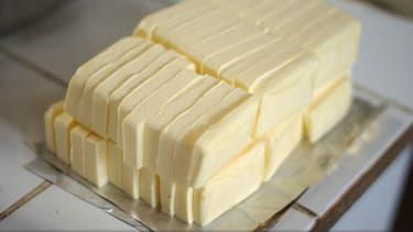 Des plaquettes de beurre. (photo d'illustration)