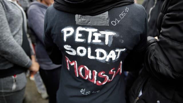 Un rassemblement en hommage à Moussa a réuni plusieurs centaines de personnes dimanche à Trappes.