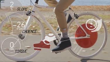"""Le Copenhagen Wheel est une roue """"intelligente"""" motrice et reliée à votre téléphone portable."""