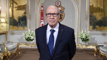 Le président tunisien Béji Caïd Essebsi, mort ce jeudi à 92 ans.