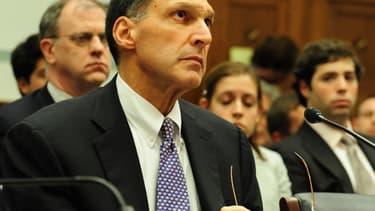 """Richard Fuld estime que que Lehman Brothers a été victime d'une """"banqueroute forcée""""."""