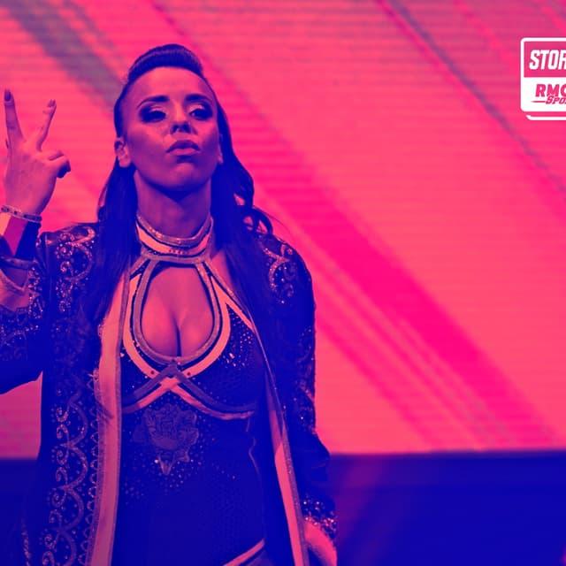 """Amale """"French Hope"""" Dib avant un combat à NXT UK en janvier 2021"""