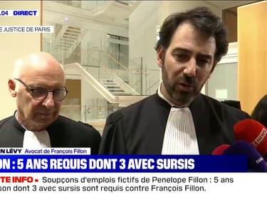 """L'avocat de François Fillon dénonce des réquisitions """"plus politiques que juridiques"""""""