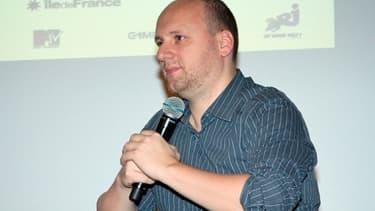 Le créateur de jeu vidéo David Cage, au festival du jeu vidéo de Paris en 2008.