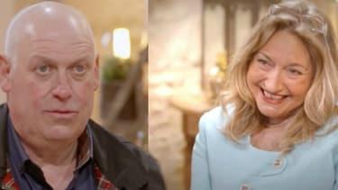 Guy et Francine dans L'Amour est dans le pré -