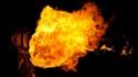 """L'immolation par le feu est geste considéré comme """"extrême"""" par les psychiatres (photo d'illustration)"""