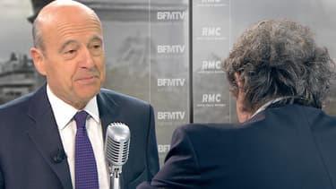 Alain Juppé, mardi matin, sur BFMTV et RMC