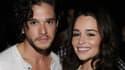 """Kit Harrington et Emily Clarke, Jon Snow et Daenery Targaryen à l'écran fortmeront-ils un jour un couple dans """"Game of Thrones"""""""