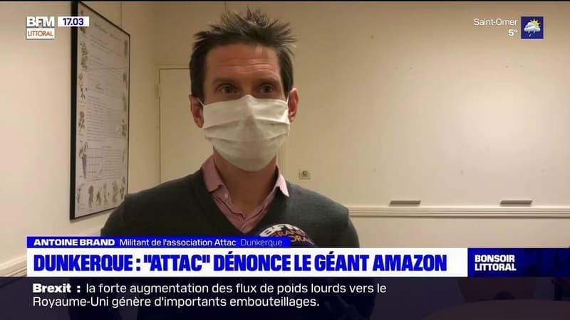 Dunkerque: l'association Attac alerte sur les dégâts du géant Amazon sur le commerce local