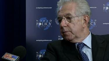 Mario Monti a adressé une critique à peine voilée à la France, jeudi 28 février.