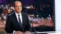 """François Hollande s'est qualifié mardi soir de président """"en action"""" aux services des Français, dont il a dit espérer une majorité """"large, solide, cohérente"""" à l'occasion des élections législatives des 10 et 17 juin. /Photo prise le 29 mai 2012/REUTERS/Th"""