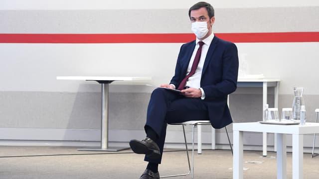 Le ministre de la Santé, Olivier Véran, le 4 mars 2021
