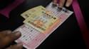 Un billet de loterie Powerball, aux Etats-Unis