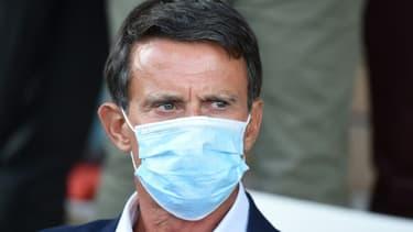 Manuel Valls à Paris le 27 août 2020