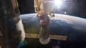 Le véhicule Soyouz TMA -15M amarré au module Rassvet.