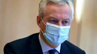 Bruno Le Maire le 20 novembre 2020 à Paris