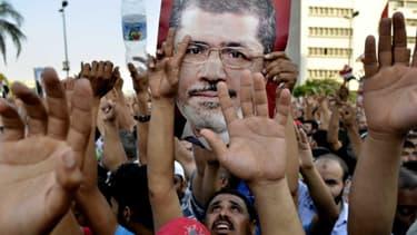 Des manifestants pro Morsi, le 5 juillet au Caire.