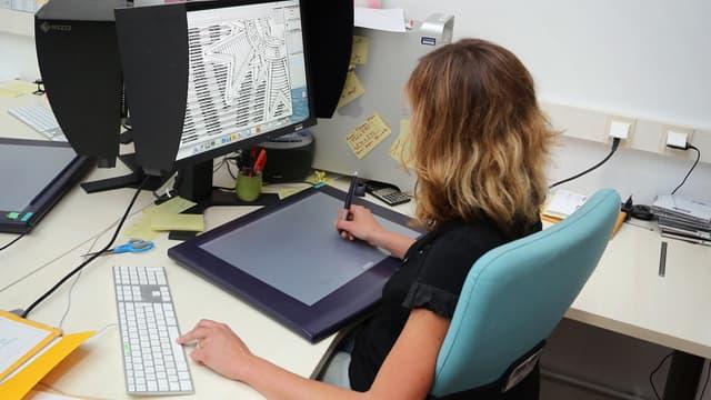 Les femmes ont encore du mal à s'imposer dans  le secteur numérique (illustration).