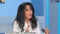Yamina Benguigui sur le plateau de BFMTV, le 15 novembre 2013