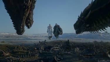 "Image de la bande annonce de la saison 8 de ""Game of Thrones""."