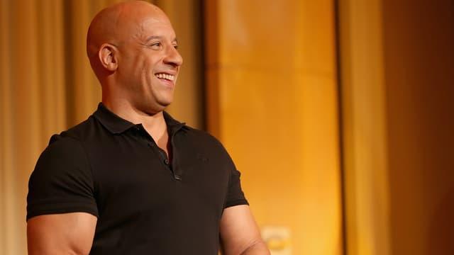 Vin Diesel en juin 2017 à Hollywood