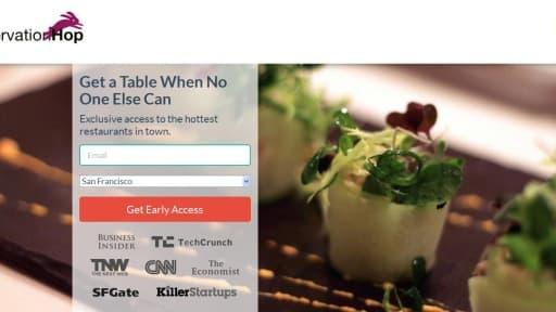 ReservationHop permet d'obtenir une table dans un restaurant... à condition de payer!