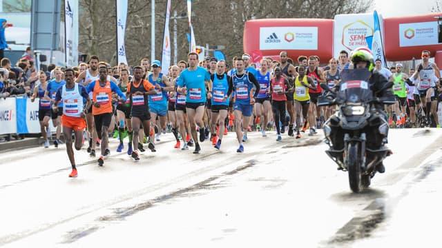 Le semi-marathon de Paris en 2019