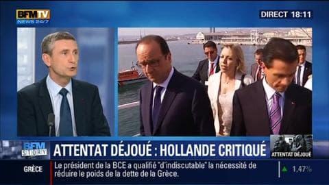 Attentat déjoué (1/2): la communication de François Hollande fait polémique