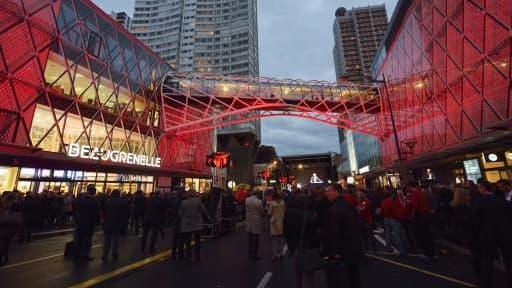 Le centre commercial Beaugrenelle, lors de son inauguration, en octobre dernier.
