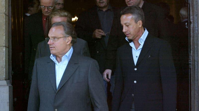 """Le mari du producteur Gérard Louvin accusé d'inceste, tous deux dénoncent un """"chantage"""""""