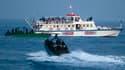 L'un des navires de la flottille qui a tenté de rallier Gaza avant d'être pris d'assaut lundi matin par un commando israélien. L'un des Français présents à bord des six bateaux, Thomas Sommer-Houdeville, a assuré vendredi que d'autres navires tenteraient