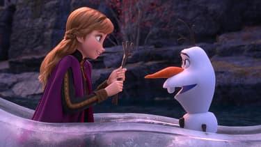 """Anna et Olaf dans """"La Reine des Neiges 2"""""""