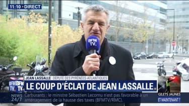 """Pour le député Jean Lassalle, le mouvement des gilets jaunes est une """"expérience exceptionnelle"""""""