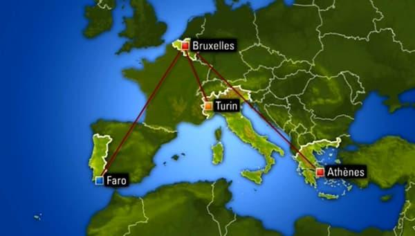 Trois vols sont au départ de Zaventem ce dimanche.