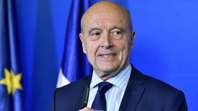 Alain Juppé, le 23 avril 2017 à Bordeaux.