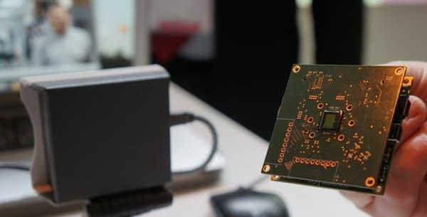 Axiome, la caméra qui embarque de l'intelligence artificielle directement sur le composant.