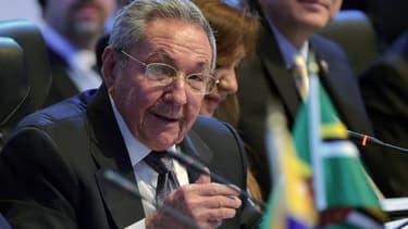 Le président cubain Raul Castro au Sommet des Amériques, à Panama City, le 11 avril. - Raul Castro