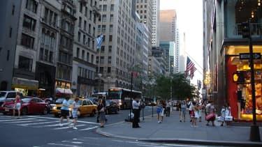 Les loyers de la 5ème avenue sont les plus élevés au monde pour les commerces.