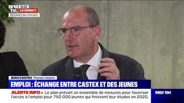 """Jean Castex: """"Les jeunes seront les premiers concernés par la crise"""""""