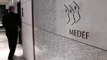 Siège du Medef, à Paris.