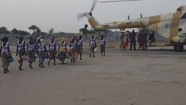 Les 82 lycéennes libérées des mains de Boko haram